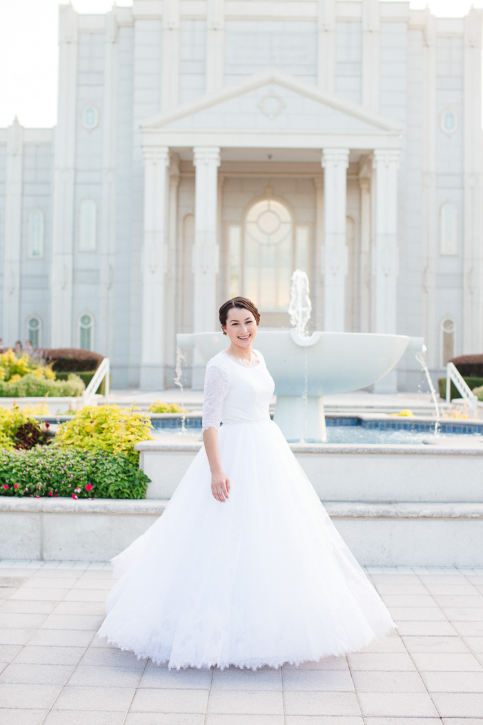 houston, wedding, photography, photographer, kelli nicole photography, temple, lds, bride, color