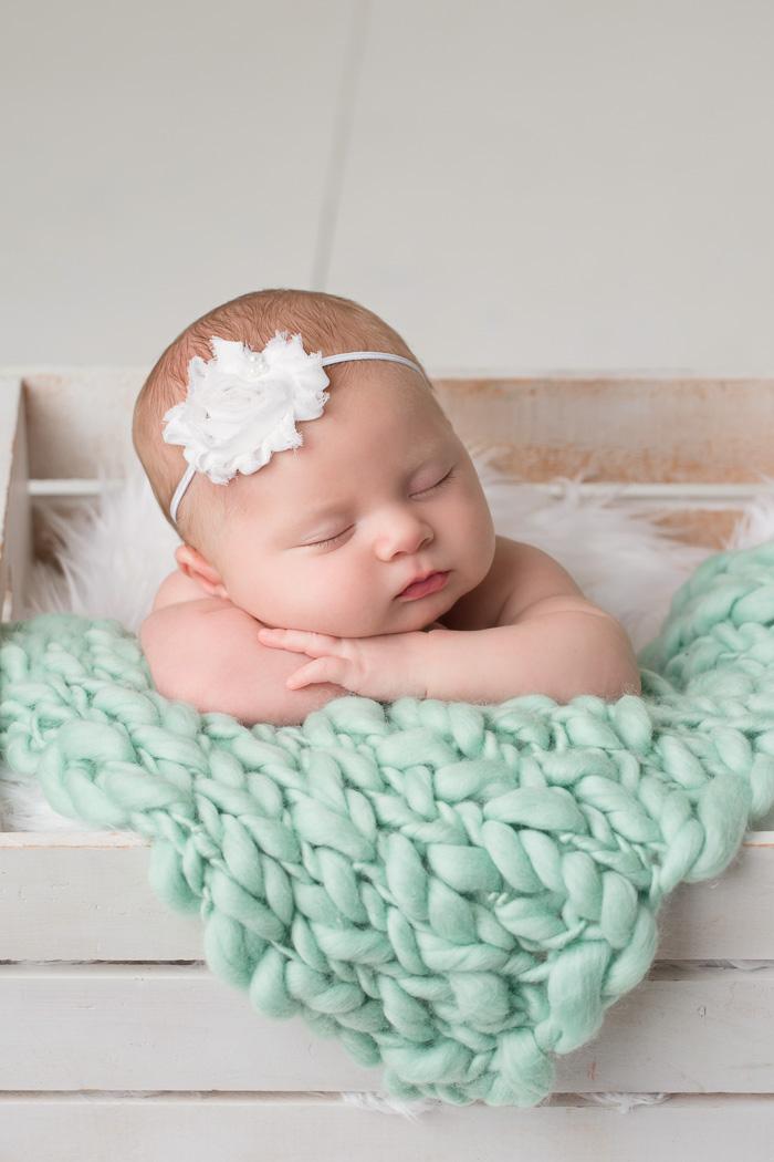 posed, newborn, photography, session, photo shoot, houston, texas, kelli nicole photography, baby girl, color, brooklyn, newborn photography, houston newborn photographer, studio, newborn girl, mint, newborn posing,