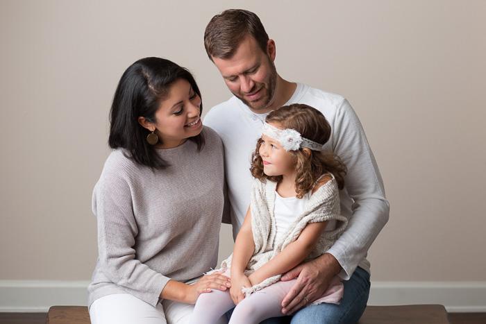 houston family photographer, houston family photography, studio, family, color, kelli nicole photography, family of three,